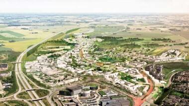 Resona Utveckling bygger plusenergihus i Brunnshög