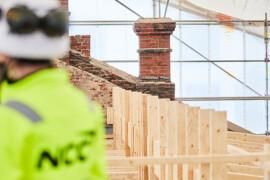 NCC och Beijer Byggmaterial satsar på certifierat virke