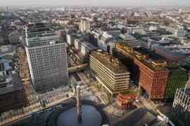 Green Roof Award till Sergelhusets gröna tak