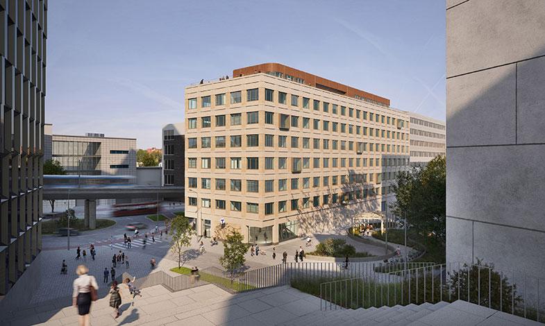 Skanska startar nästa etapp av kontorssatsningen i Hammarby Sjöstad