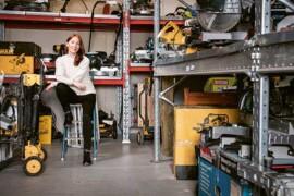 Catrine Rudbäck Sageryd – entreprenör med verktyg att förändra byggbranschen
