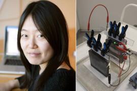 Chalmersforskare skapar laddbart batteri av cement