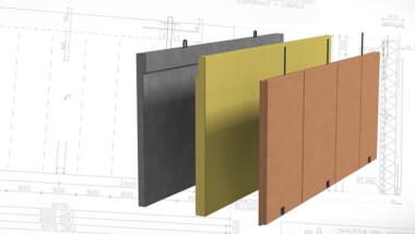 Hybridelement kombinerar trä och betong
