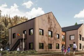 Återvunnet glas blir grund när ny förskola byggs