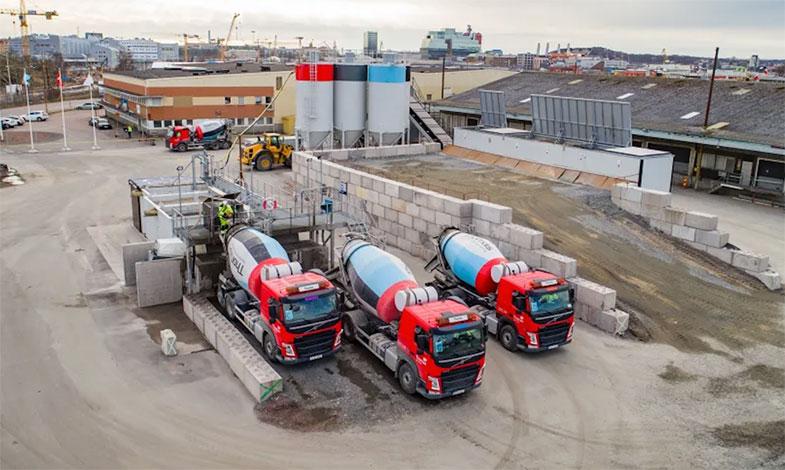 Minskade utsläpp med klimatförbättrad betong när Västlänken byggs