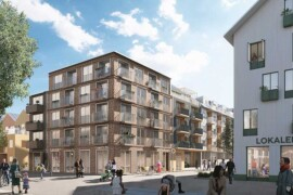 Balder och Serneke utvecklar bostadsområde i Umeå