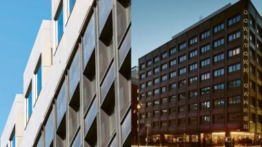 Historiskt hotell når nya höjder