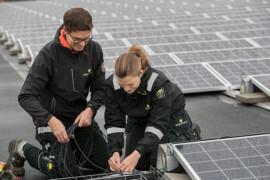 Ny överenskommelse om montering av solceller