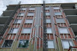 Flera vinster med integrerad fasadlösning