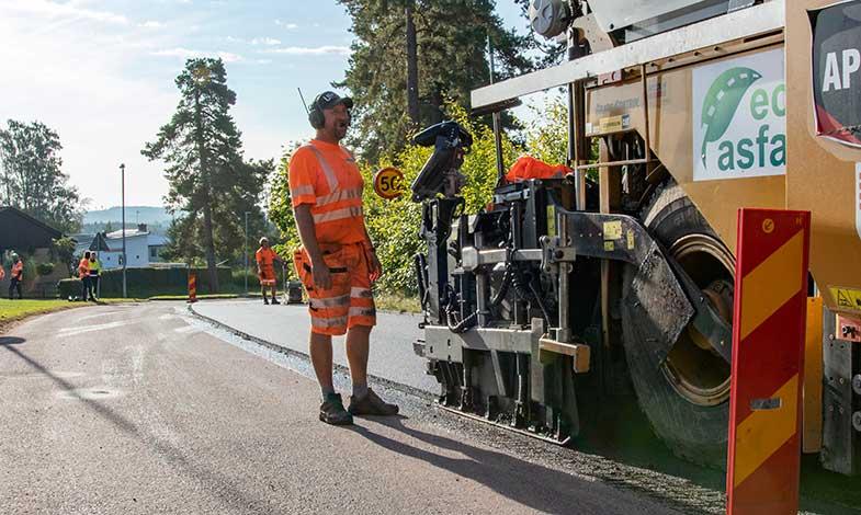 Peab Asfalt tar nästa steg mot klimatförbättrad asfalt med lignin