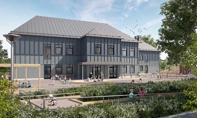 Peab bygger miljömärkt förskola i Ljungskile