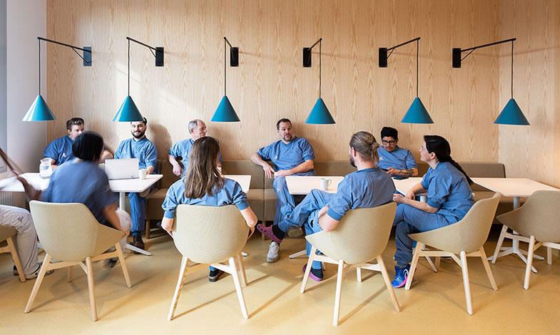 Sjukhusbyggnad prisas för god ljudmiljö