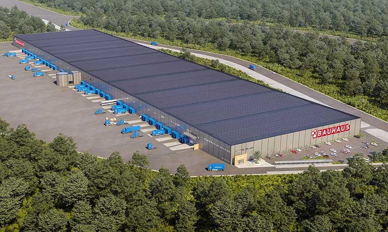 Soltech bygger Nordens största solcellsanläggning på tak