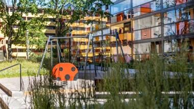 Rinkebys innergårdar ska bli grönare och tryggare