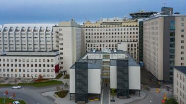 Bergvärmepumpsystem kan minska sjukhusets CO2-utsläpp