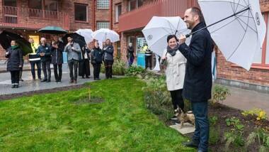 Kooperativa hyresrätter invigda i klimatsmart hus