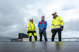 Wihlborgs och E.ON satsar på solceller med lägre klimatavtryck
