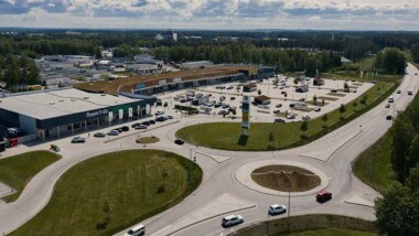 Fastighet i Lidköping först att certifieras med Miljöbyggnad iDrift GULD